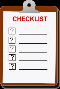 """""""check list misión de empresa"""""""